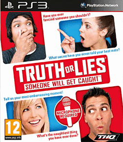 Truth or Lies: Someone Will Get Caught PlayStation 3 Cover Art