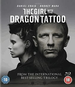 The Girl With The Dragon Tattoo Blu-Ray