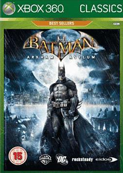 Batman: Arkham Asylum Classics Xbox 360 Cover Art