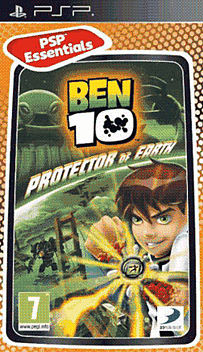 Ben 10 (PSP Essentials) PSP Cover Art