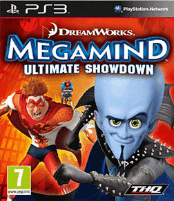 Megamind PlayStation 3 Cover Art