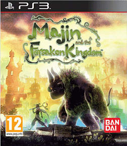 Majin and the Foresaken Kingdom PlayStation 3 Cover Art