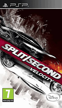 Split/Second: Velocity PSP Cover Art