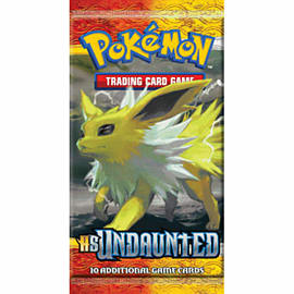 Pokemon HS Undaunted Booster Toys and Gadgets