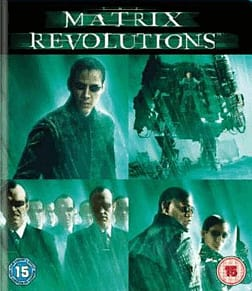 The Matrix Revolutions Blu-Ray