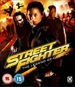 Street Fighter: The Legend of Chun-Li Blu-Ray