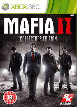 Mafia II Collector's Edition Xbox 360 Cover Art