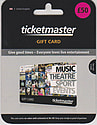 Ticketmaster Gift Card - £50 Gifts