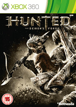 Hunted: The Demon's Forge Xbox 360 Cover Art