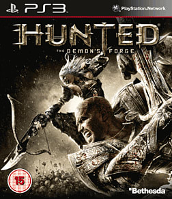Hunted: The Demon's Forge PlayStation 3 Cover Art