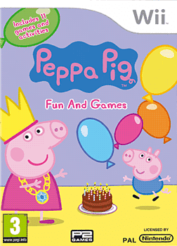 Peppa Pig:Fun and Games Wii Cover Art