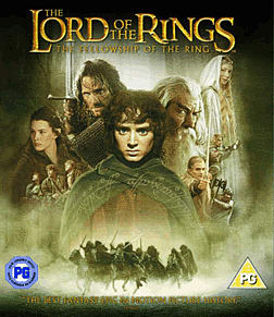 The Lord of the Rings - The Fellowship of the Ring Blu-ray