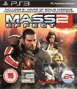 Mass Effect 2 PlayStation 3 Cover Art