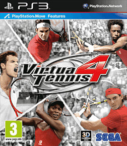 Virtua Tennis 4 (Move compatible) PlayStation 3 Cover Art