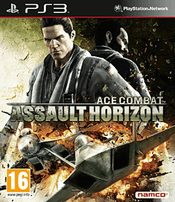 Ace Combat: Assault Horizon PlayStation 3 Cover Art