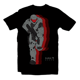 Halo Reach Clones T Shirt (L) Clothing and Merchandise