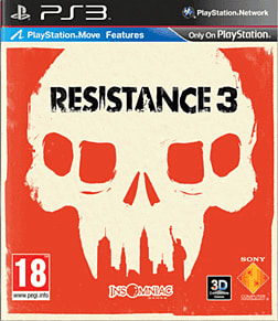 Resistance 3 PlayStation 3 Cover Art