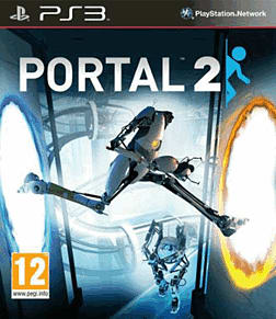 Portal 2 PlayStation 3 Cover Art