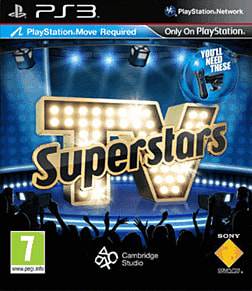 TV Superstars: Move PlayStation 3 Cover Art