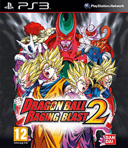 Dragon Ball: Raging Blast 2 PlayStation 3 Cover Art