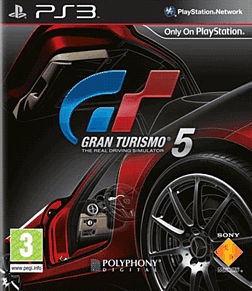 Gran Turismo 5 PlayStation 3 Cover Art