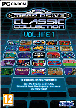 Sega Mega Drive Classic Collections Volume 1 PC Games and Downloads Cover Art