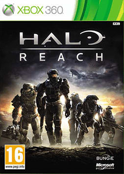 Halo: Reach Xbox 360 Cover Art