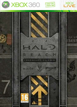 Halo: Reach Legendary Pack Xbox 360 Cover Art