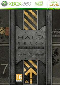 Halo: Reach Legendary Pack Xbox 360 Cover Art