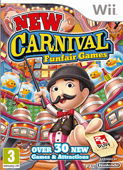 New Carnival Games Wii Cover Art