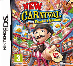 New Carnival Games DSi and DS Lite Cover Art
