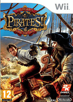 Sid Meiers: Pirates Wii Cover Art