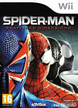 Spiderman: Shattered Dimensions Wii Cover Art