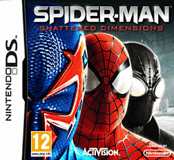 Spiderman: Shattered Dimensions DSi and DS Lite Cover Art