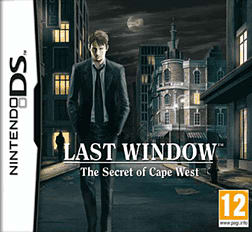 Last Window: The Secret of Cape West DSi and DS Lite Cover Art