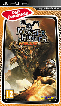 Monster Hunter Freedom (PSP Essentials) PSP Cover Art