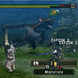 Monster Hunter Freedom (PSP Essentials) screen shot 3