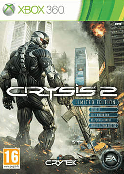 Crysis 2 Limited Edition Xbox 360 Cover Art