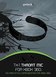 Gioteck Throat Mic for Xbox 360 Accessories