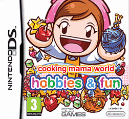 Cooking Mama World: Hobbies and Fun DSi and DS Lite Cover Art