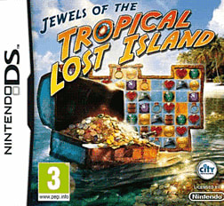 Jewels of the Tropical Lost Island DSi and DS Lite Cover Art