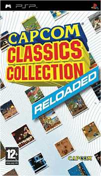 Capcom Classics Reloaded PSP Cover Art