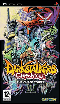 Darkstalkers Chronicle PSP Cover Art