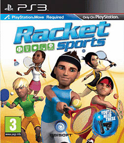 Racket Sports (Move Compatible) PlayStation 3 Cover Art