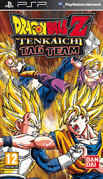 Dragon Ball: Tenkaichi Tag Team PSP Cover Art
