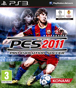 Pro Evolution Soccer 2011 PlayStation 3 Cover Art