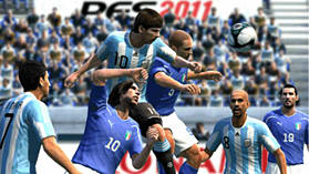 Pro Evolution Soccer 2011 screen shot 4