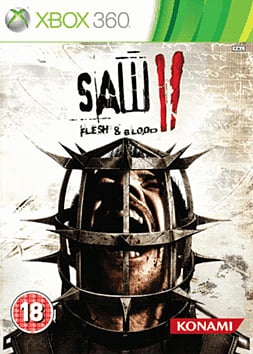 Saw 2: Flesh & Blood Xbox 360 Cover Art