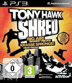 Tony Hawk Shred (with board) PlayStation 3