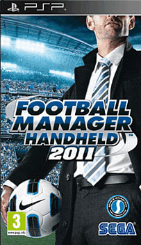 Football Manager Handheld 2011 PSP Cover Art
